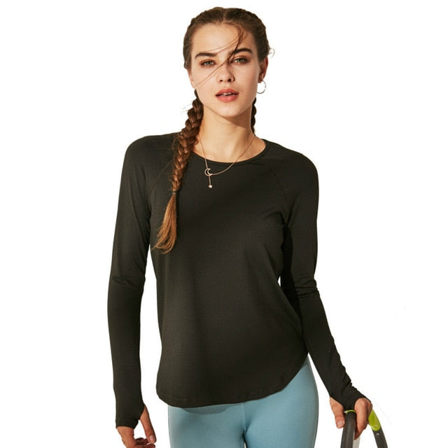 Breath Easy Long Sleeve Tee