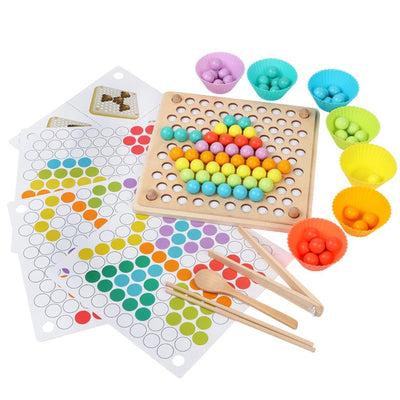 SOFT&SHINE™ Early Education Beads Puzzle Board