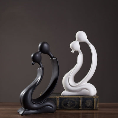 Soft & Shine™ - Abstract Couple Sculpture