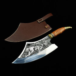 Hand Crafted Tiger Cleaver