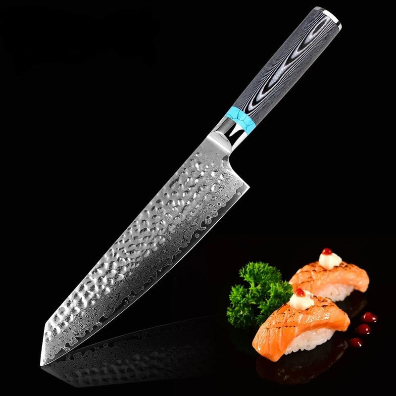 "Damascus Steel Professional Chef Knife 8"" inch -  67 Layers"