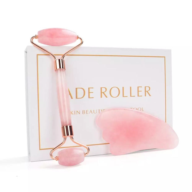 Beauties Bliss-Rose-pink-Quartz-Roller-Slimming-Face-Massager-Lifting-Natural-Jade-Facial-Massage-Roller-Stone-Skin-Massage-gift set-gua sha.jpg