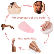 Beauties Bliss-rose quartz jade roller-face lift-massager-natural-real-crystal-gemstone-facelift-full-body-neck-facial-massage