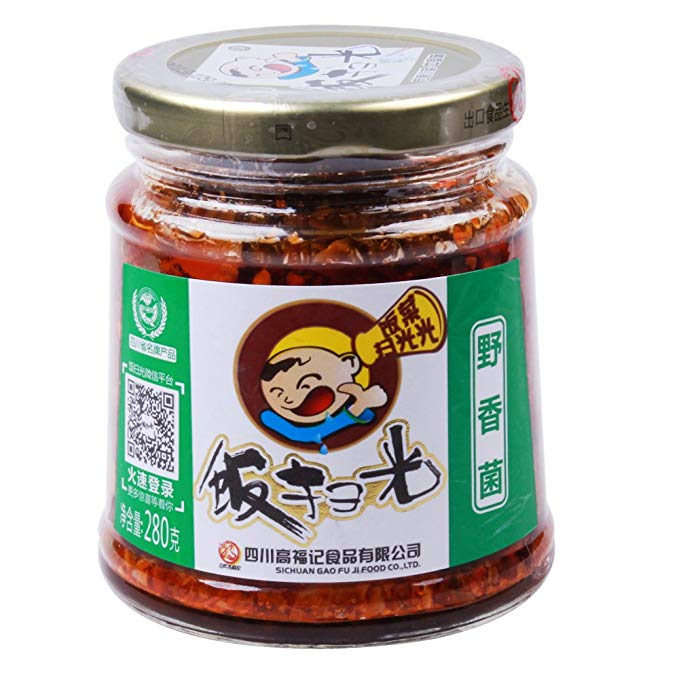 FSG Preserved Cooked Fungus 280g <br> 飯掃光 野香菌
