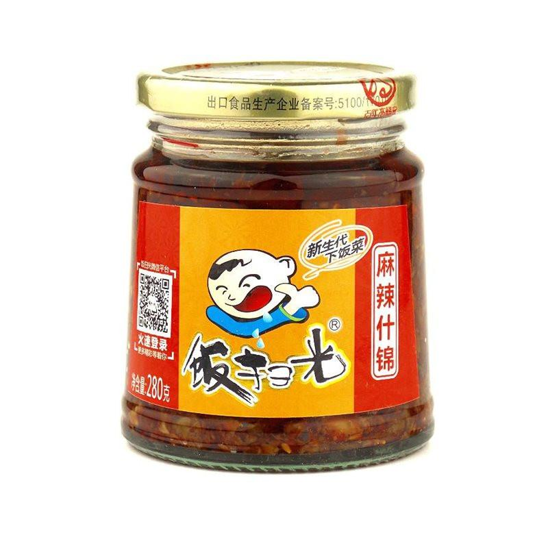 FSG Chilli Sauce with Cowpea 280g <br> 飯掃光 麻辣什錦