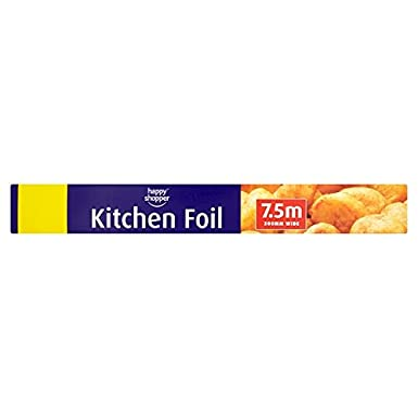 Happy Shopper Kitchen Foil 300mm Wide 7.5m ***