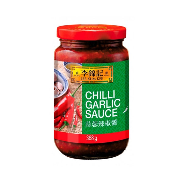 LKK Chilli Garlic Sauce 368g <br> 李錦記蒜蓉辣椒醬