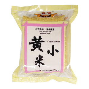 Honor Yellow Millet 454g <br> 康樂黃小米