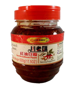 CLH Hot Broad Bean Paste 500g <br> 川老匯紅油豆瓣醬