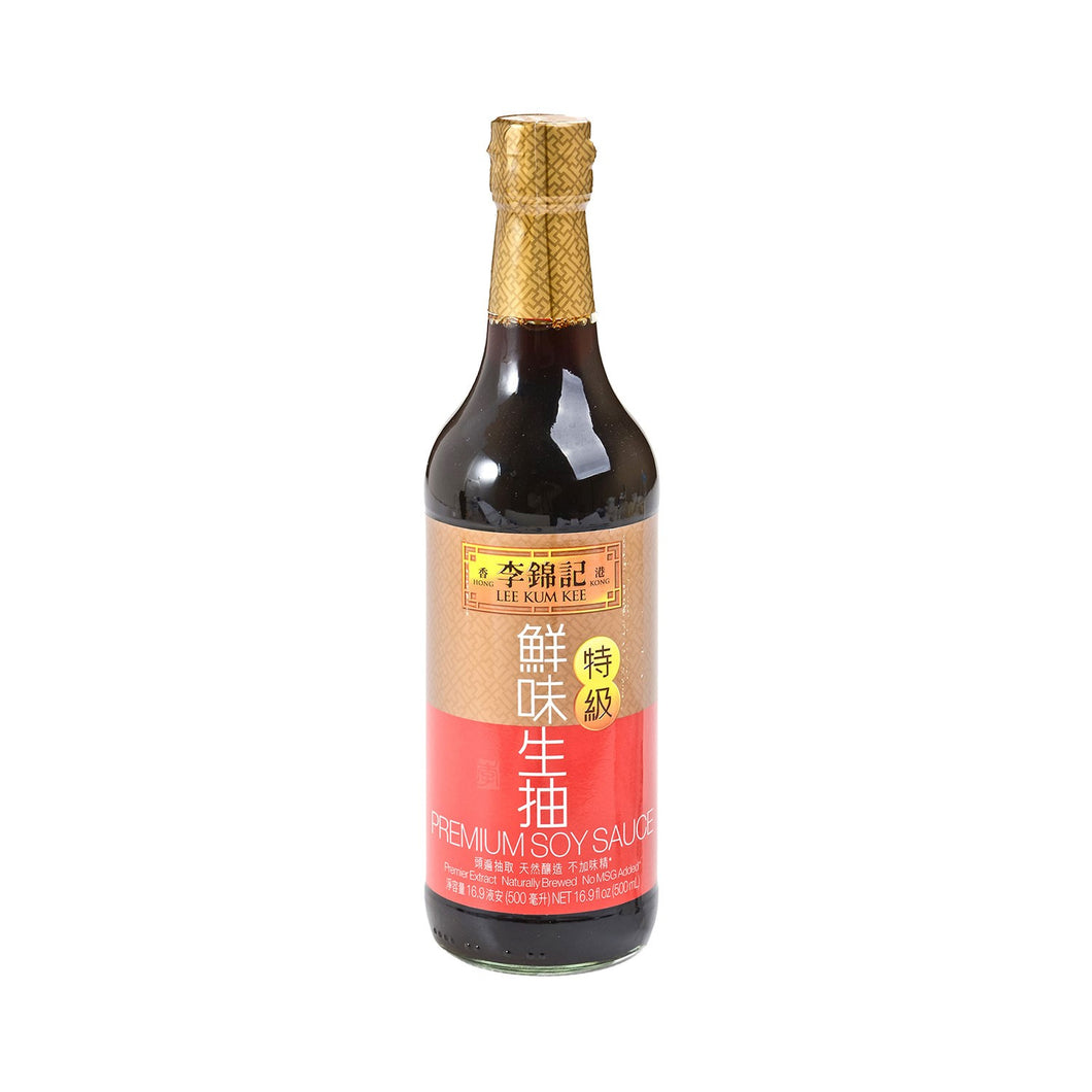 LKK Premium Light Soy Sauce 500ml <br> 李錦記特級鮮味生抽