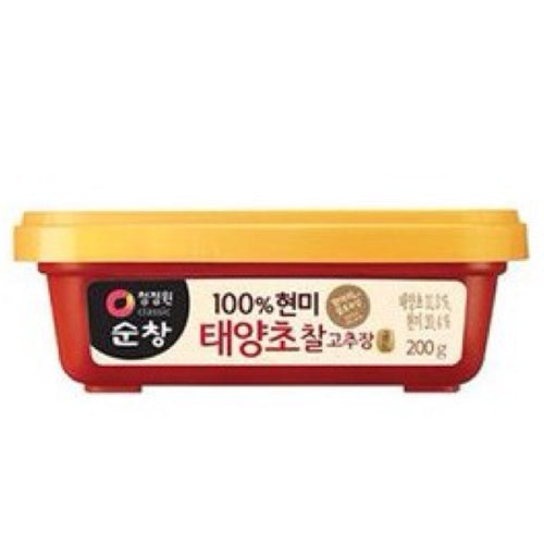 Chung Jung One Korean Brown Rice Red Pepper Paste 200g <br> Chung Jung One 韓式辣椒醬