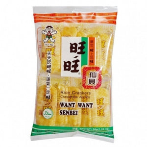 WW  Senbei Rice Crackers 56g <br> 旺旺 仙貝