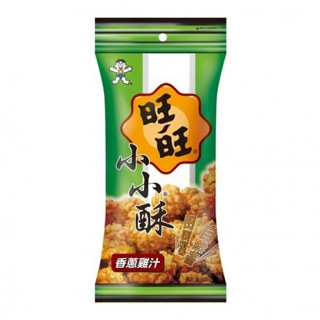 WW Mini Rice Crackers - Spring Onion & Chicken 60g <br> 旺旺 小小酥 - 香蔥雞汁