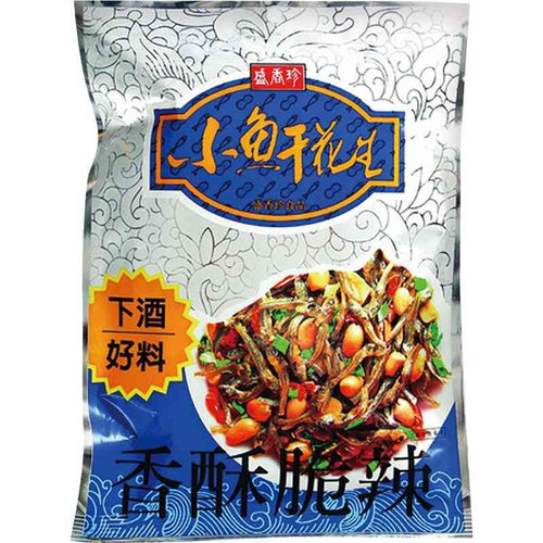 TF - Dried Fish with Peanut 80g <br> 盛香珍 小魚乾花生