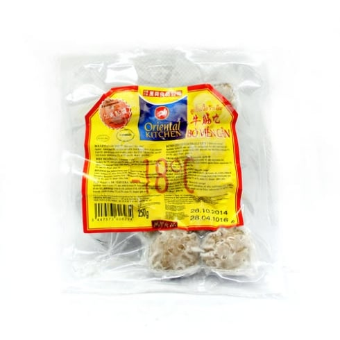 Oriental Kitchen Beef Meatballs With Nerve 250g <br>萬興牛筋丸
