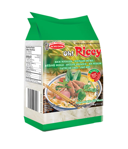 Acecook Oh Ricey Rice Noodles 500g - Acecook 越南河粉