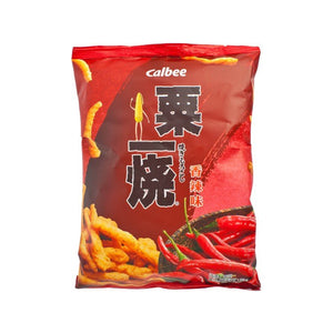 Calbee Grill A Corn - Hot & Spicy 80g *** <br> 卡樂B粟一燒-香辣味