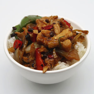 Black Bean Chicken - 鉄板豉汁鷄球 (Large)