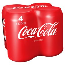 Coca Cola Coke 330ml (4 pack) *** <br> 可口可樂 4包裝