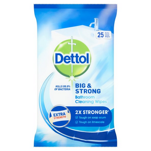 Dettol Big & Strong Bathroom Cleaning Wipes
