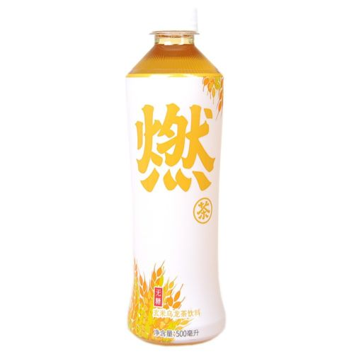 Genki Forest Oolong Tea (Brown Rice Flavour) 500ml <br> 元氣森林無糖玄米烏龍燃茶