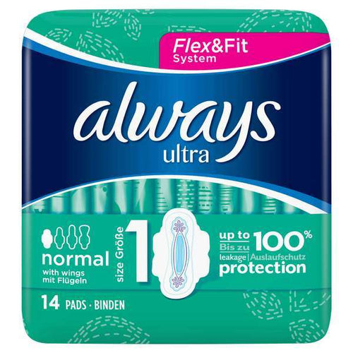Always Ultra Normal Flex & Fit 66g ^^^ <br> 護舒寶 衛生巾 (日用)
