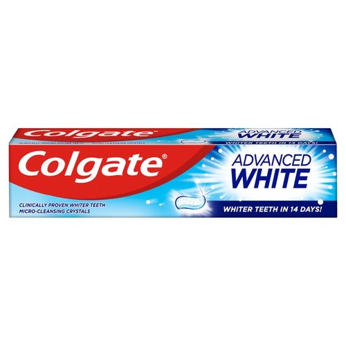 Colgate Advanced White Toothpaste 50g*** <br> 高露潔超感白牙膏
