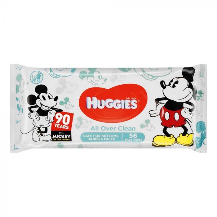 Huggies All Over Clean Baby Wipes 305g***  <br> 抱抱濕紙巾