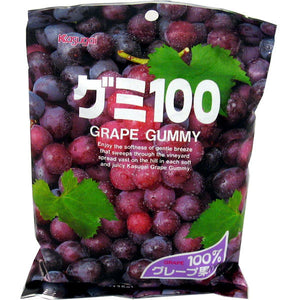 Kasugai Seika Grape Gummy Candy 107g *** <br> 春日井葡萄軟糖