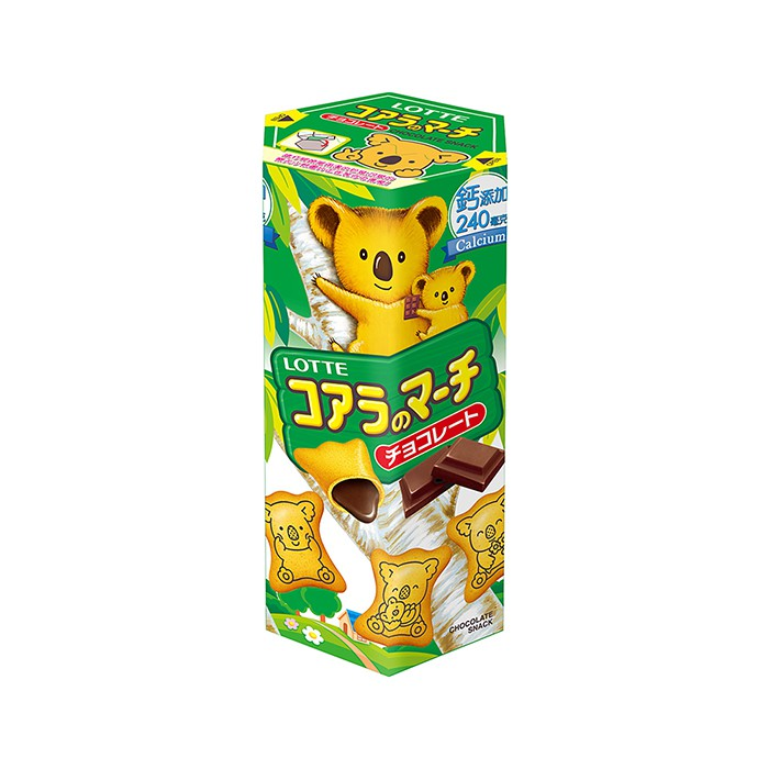 Lotte Koala's March Biscuits - Chocolate 50g <br> 樂天熊仔餅-巧克力