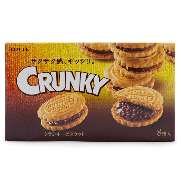 Crunky Chocolate Sandwich Biscuits 8 pieces <br> 巧克力夾心餅乾