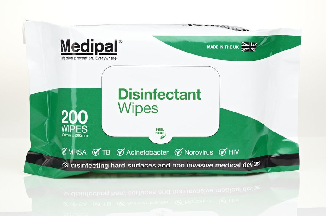 Medipal Disinfect Wipes - 200 Wipes ***