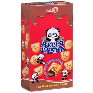 Meiji Hello Panda Chocolate Biscuits 25g ***