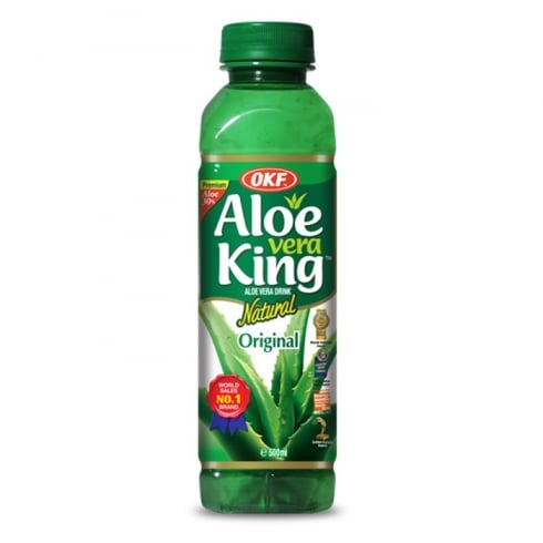 OKF Aloe Vera Juice King 500ml *** <br> OKF 蘆薈汁-原味