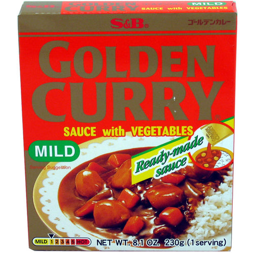 S&B Instant Golden Curry Sauce with Vegetables Mild 230g <br> S&B 方便即食金牌咖喱 甜口