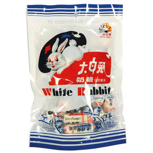 White Rabbit Creamy Candy 108g *** <br> 大白兔奶糖