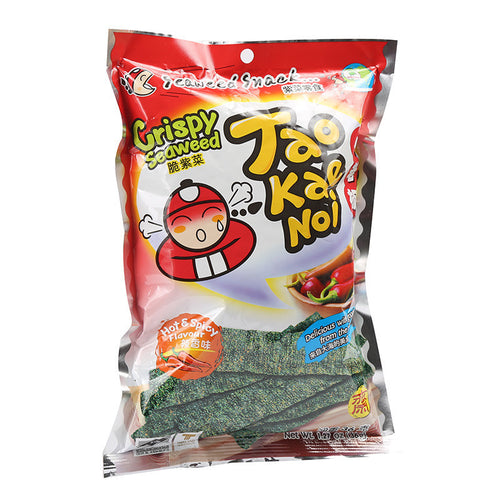 TKN Crispy Seaweed - Hot & Spicy 32g <br>小老板 脆紫菜 辣香味