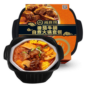 HDL Self-Heating Hotpot - Tomato Beef Flavour 395g <br> 海底撈番茄牛腩自煮火鍋