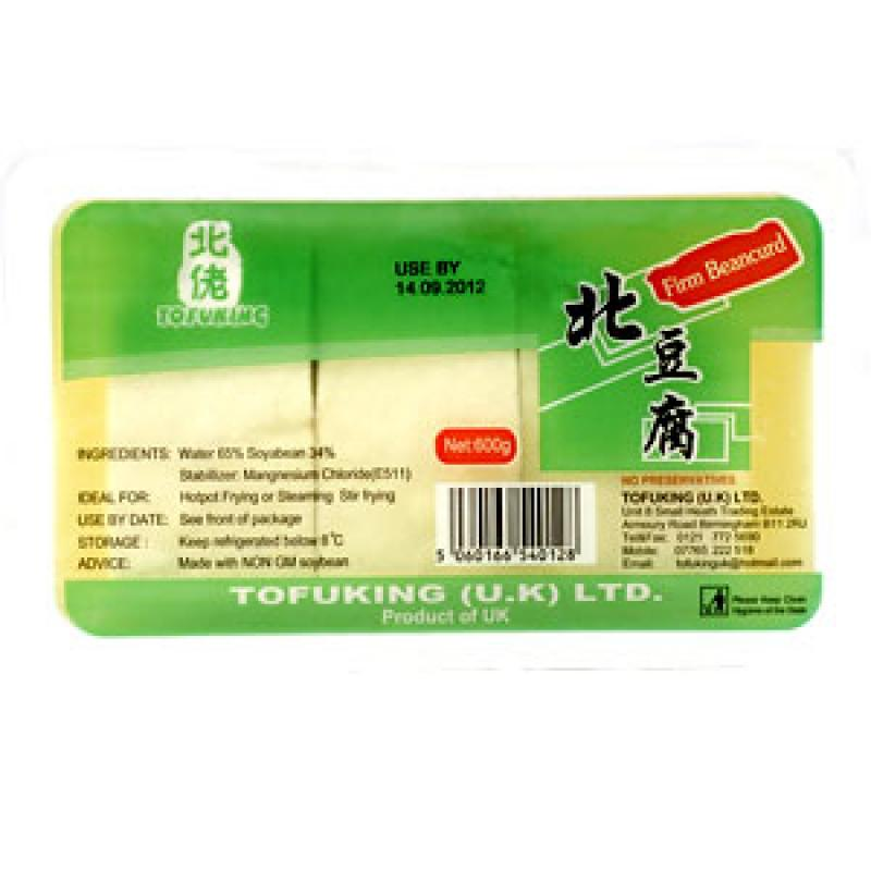 Tofu King Firm Tofu 600g <br> 北佬北豆腐