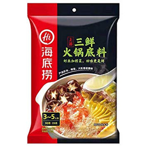 HDL Hotpot Base - Shrimp Soup 200g <br> 海底撈上湯三鮮火鍋底料