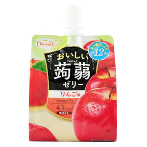 Tarami Apple Flavoured Konjac Jelly Drink 150g *** <br> Tarami 美味蒟蒻果凍飲品 蘋果味