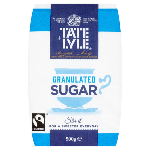 Tate Lyle Granulated Sugar 500g <br> T&L 砂糖