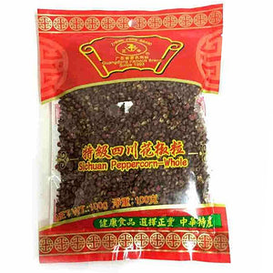 ZF Sichuan Peppercorn - Whole 100g <br> 正豐四川花椒顆粒