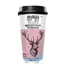 The Alley Milk Tea - Peach Oolong Flavour 123g <br> 鹿角巷奶茶 - 蜜桃烏龍牛乳茶