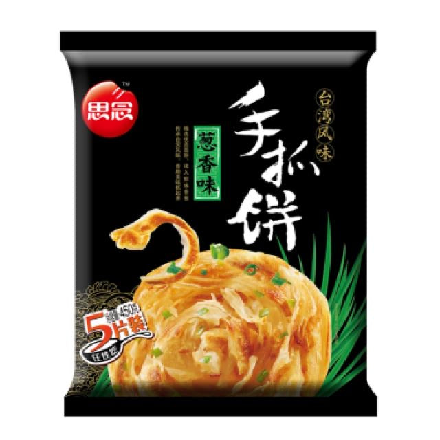SYNEAR Hand-Grasp Pancake (onion) 450g <br> 思念手抓餅 (蔥香)