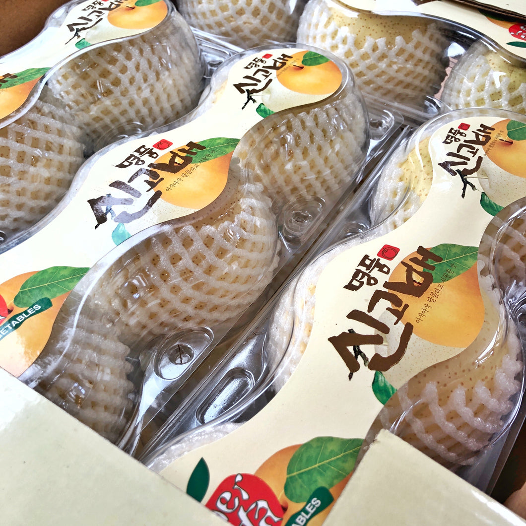 Fresh Large Korean Pear (3 Pcs)
