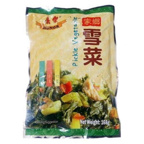 Honor Pickle Vegetable 168g <br> 康樂家鄉雪菜
