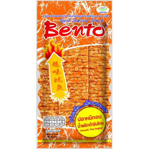 Bento Squid Seafood Snack - Namprik Thai Original