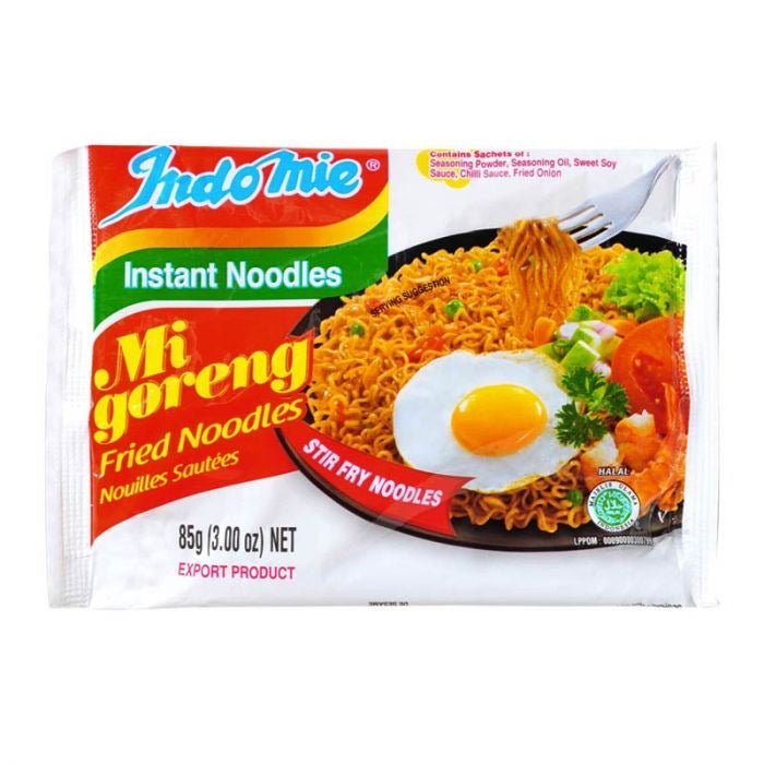 Indomie Mi Goreng Fried Noodles 80g <br> 營多印尼炒麵