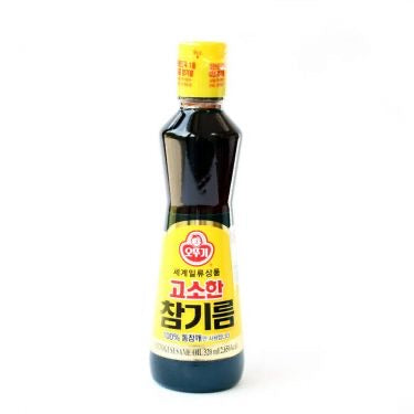 Ottogi Pure Sesame Oil 320ml <br> 不倒翁 純芝麻油